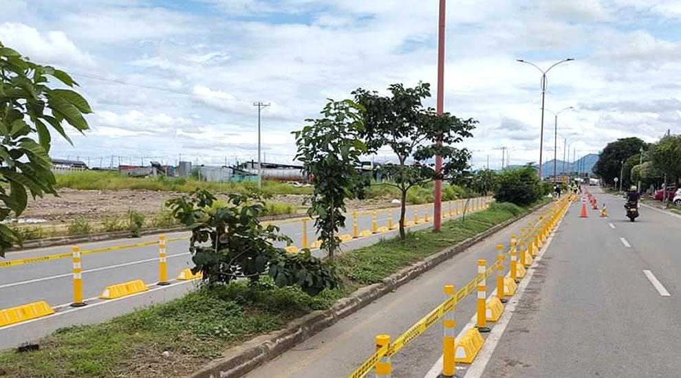 Photo of Inspeccionaron bicicarriles que se están instalando en Yopal