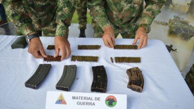 Photo of En Támara fue hallado material de guerra de las disidencias de las FARC