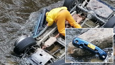Photo of Carro rodó por un abismo en la vía Aguazul – Sogamoso