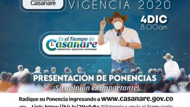 Photo of Hasta el 27 de noviembre inscripción de ponencias para participar en rendición de cuentas de la Gobernación