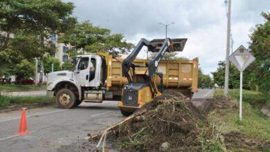 Photo of Secretaría de Obras Públicas realizó la limpieza en canal de alcantarillado pluvial