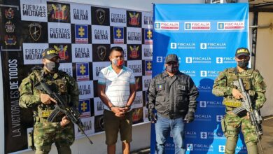 Photo of Capturan en flagrancia a presunto extorsionista en Paz de Ariporo