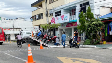 Photo of Más de 100 motocicletas fueron inmovilizadas por infringir restricción en Yopal