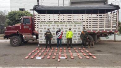 Photo of En tanque de combustible de un camión, incautan cocaína en Casanare