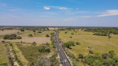 Photo of Inauguran 13.3 kilómetros pavimento de Guanapalo a San Luis de Palenque