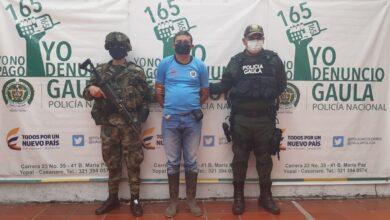 Photo of Capturado alias 'El Flaco' encargado de la extorsión del ELN en Casanare