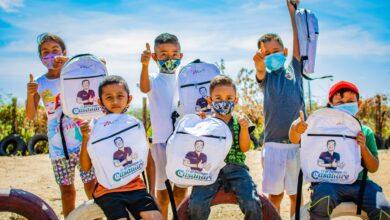 Photo of Mil kits escolares para niños de escasos recursos entrega Gestora Social