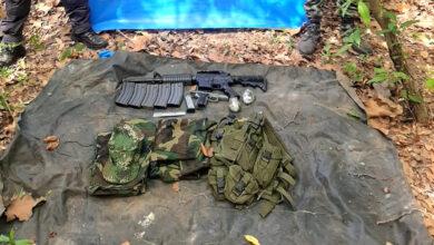 Photo of Gaula Militar Casanare halló material de guerra en Hato Corozal