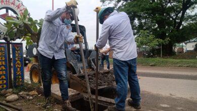 Photo of Trabajan por la limpieza del sistema pluvial de la ciudad