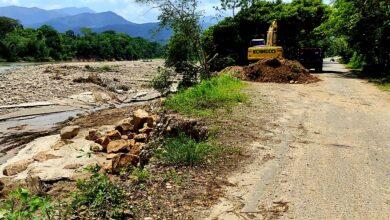 Photo of Se intervine socavación en la vía principal de Nunchía