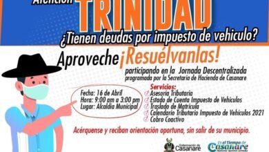 Photo of Secretaría de Hacienda Departamental llega a Trinidad