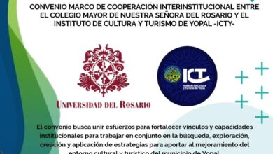 Photo of Convenio de Cultura y Turismo firmaron con Universidad del Rosario