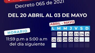 Photo of Toque de queda en Yopal hasta el 03 de mayo
