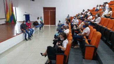 Photo of Presidió mesa de trabajo con rectores de colegios privados