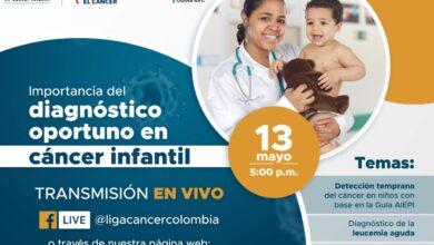 Photo of Webinario sobre Diagnóstico Oportuno en Cáncer Pediátrico