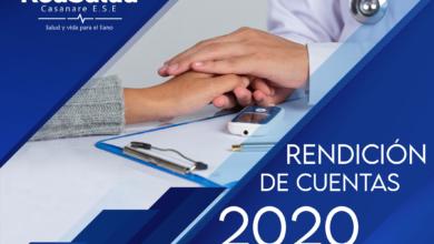 Photo of Red Salud Casanare rendirá cuentas a los casanareños de la vigencia 2020