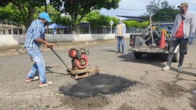 Photo of Avanza etapa de reparcheo en vías de Aguazul