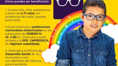 Photo of En Casanare mejorarán su visión