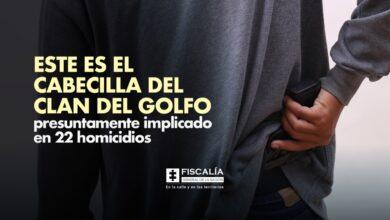 Photo of Cabecilla del Clan del Golfo presuntamente implicado en 22 homicidios en Casanare